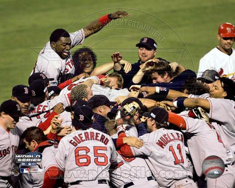 Red Sox Celebration - 2004 World Series victory over St. Louis Photo