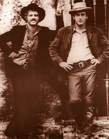 Redford & Newman Poster Card
