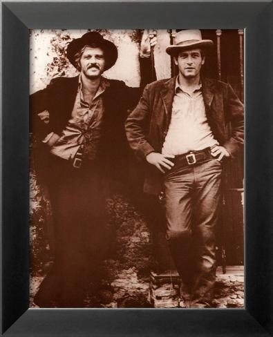 Redford & Newman Framed Art Print