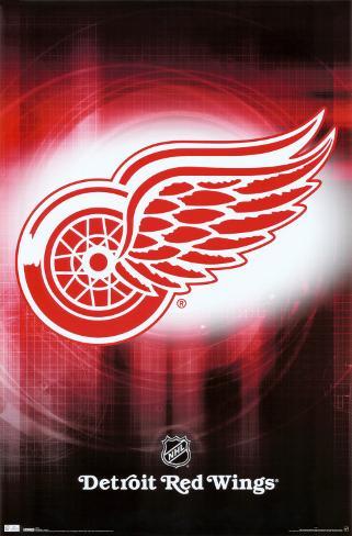 Redwings - Logo 2010 Poster