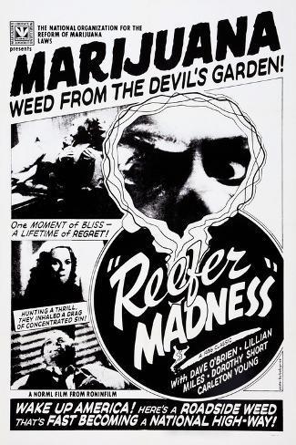 Reefer Madness, Dorothy Short, Kenneth Craig, 1936 Art Print