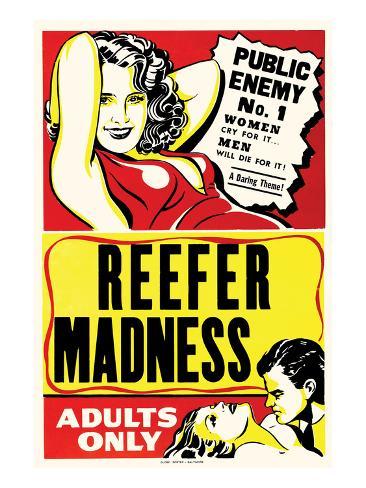 Reefer Madness Premium Giclee Print