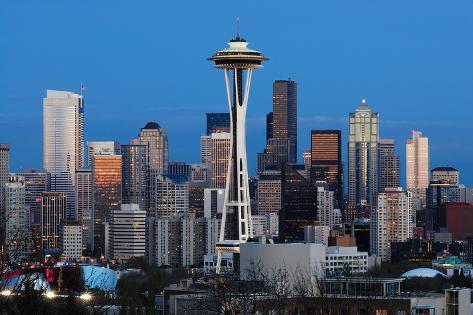 Seattle Photographic Print