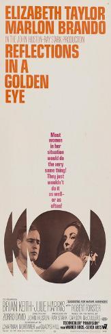 Reflections In a Golden Eye, 1967 Konstprint