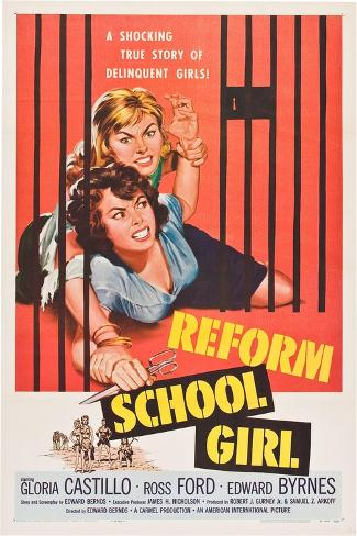 Reform School Girl Art Print