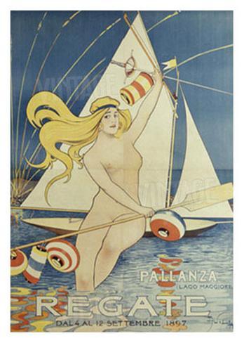 Regate Pallanza Giclee Print