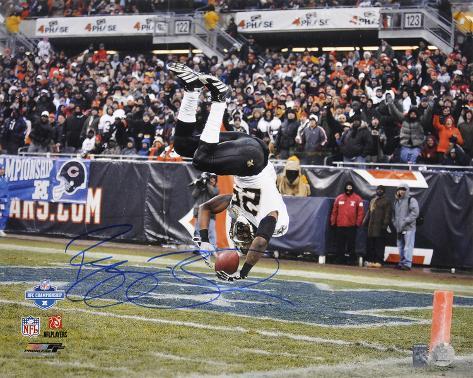 Reggie Bush New Orleans Saints - NFC Title Game Action Autographed Photo (Hand Signed Collectable) Photo