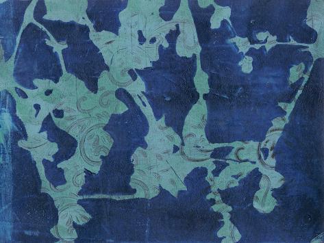 Brackish Flowers I Art Print