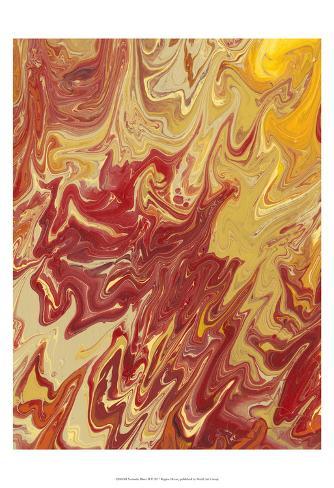 Nomadic Blaze II Art Print