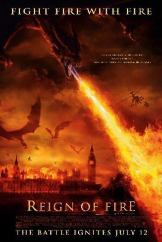Reign of Fire Movie Poster Poster originale
