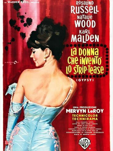 reina del vaudeville, La Lámina