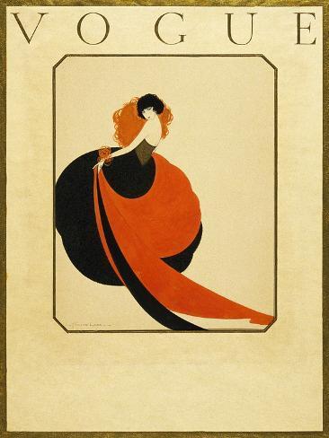 Vogue - February 1921 Stampa giclée premium