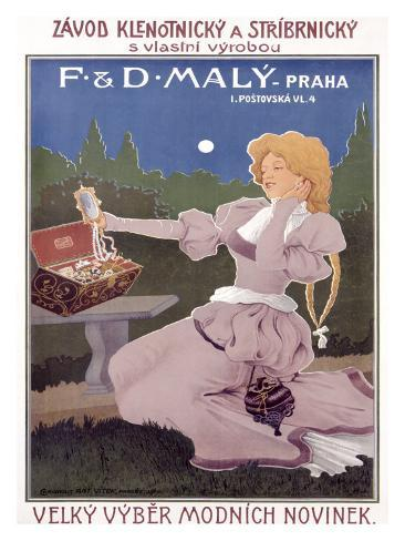 F&D Maly Giclee Print