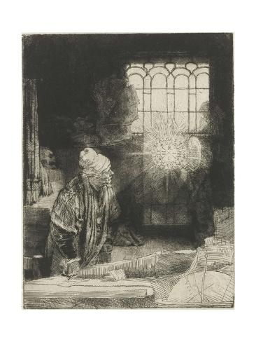 A Scholar in His Study, 1650-54 Giclee Print