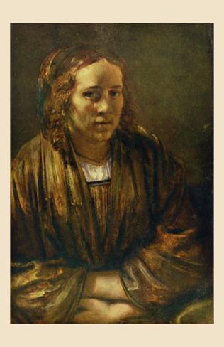 Portrait de Hendrickje Stoffels Lámina