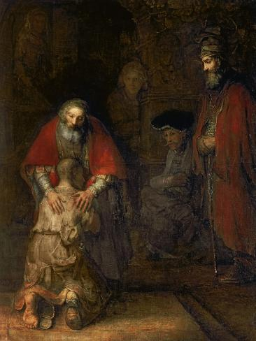 Return of the Prodigal Son, circa 1668-69 Giclee Print