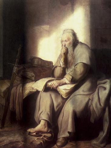 Saint Paul in Prison Giclee Print