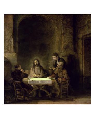 Supper at Emmaus Giclee Print