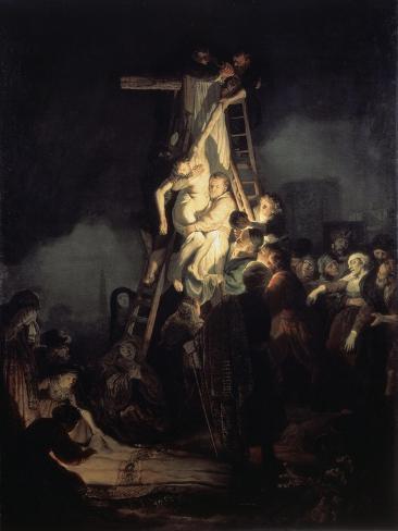The Descent from the Cross Lámina giclée