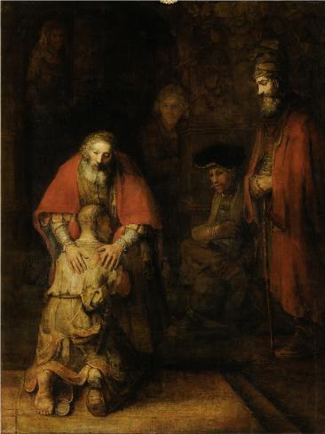Tuhlaajapojan paluu, n. 1669 Taidevedos