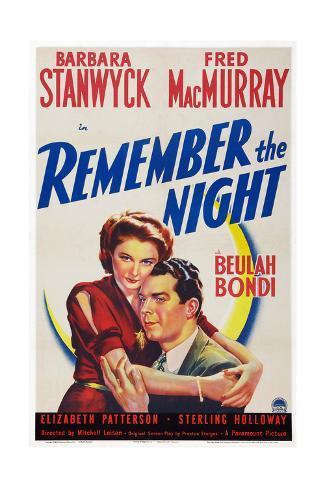 Remember the Night Impressão giclée
