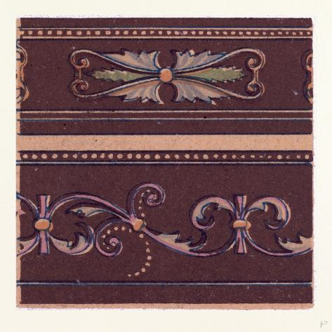 Renaissance Ornament Stampa giclée