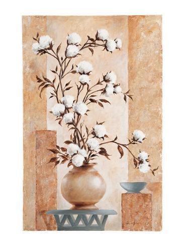 Cotton - Blossom Art Print