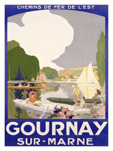 Gournay Giclee Print