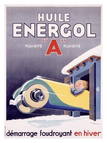 Huile Energol Giclee Print