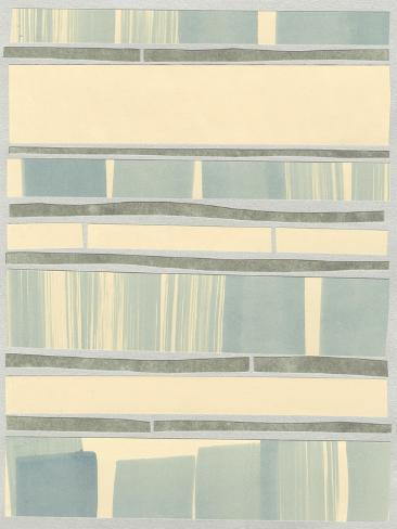 Ocean Inlay I Premium Giclee Print