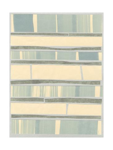 Ocean Inlay II Art Print