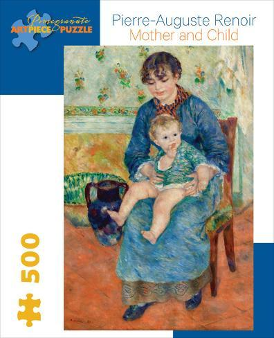 Renoir/Mother And Child 500 Piece Puzzle Jigsaw Puzzle