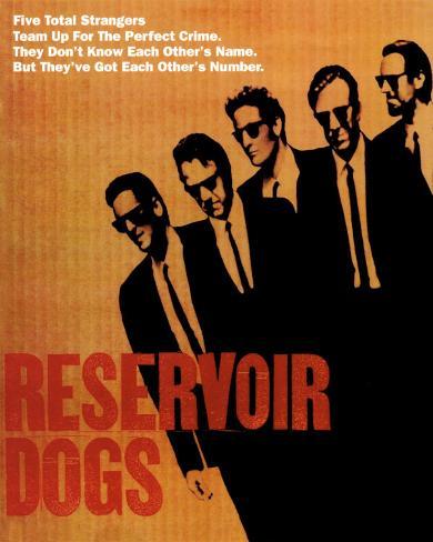 Reservoir Dogs Poster Card