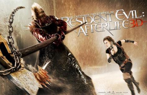 Resident Evil: Afterlife Stampa master