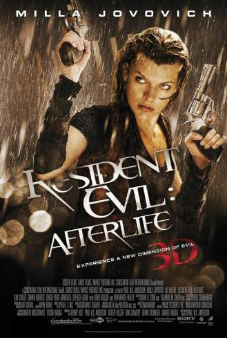 Resident Evil: Afterlife Masterprint