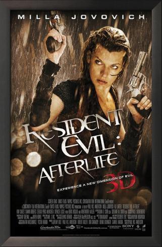 Resident Evil: Afterlife Framed Art Print