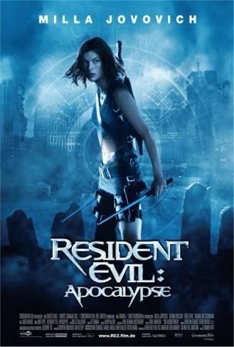 Resident Evil: Apocalypse - German Style Poster