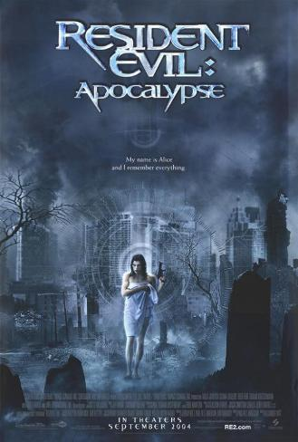 Image result for resident evil apocalypse poster