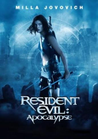 Resident Evil Apocolypse Movie Poster Original Poster