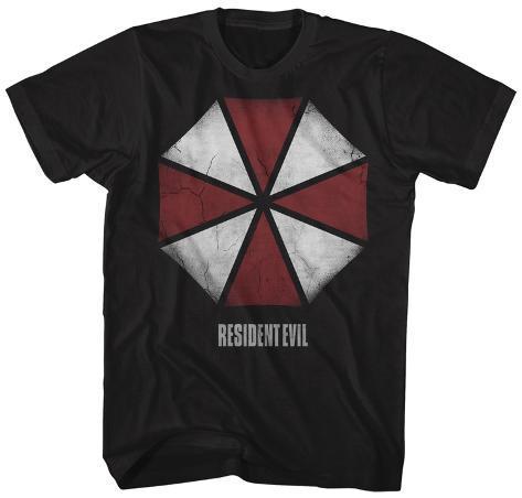 Resident Evil- Distressed Umbrella Logo Camiseta