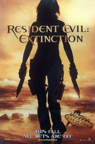 Resident Evil:Extinction Dubbelsidig poster