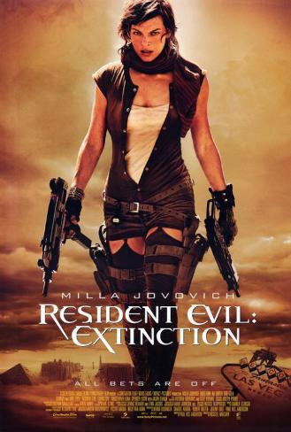 Image result for resident evil extinction poster