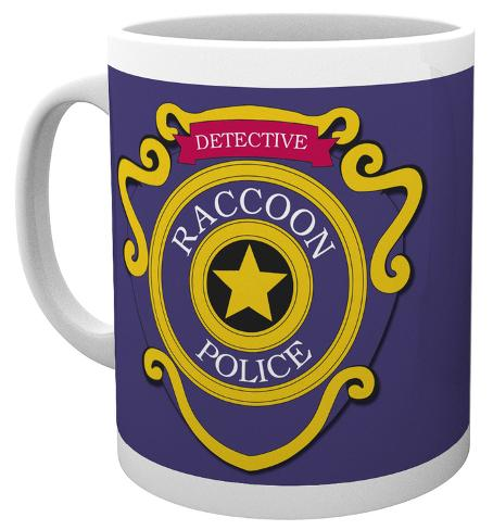 Resident Evil - Racoon Police Mug Mug