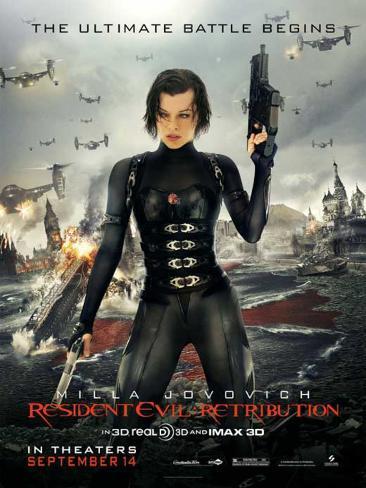 Resident Evil: Retribution Stampa master
