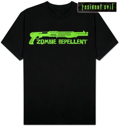 Resident Evil - Zombie Repellent T-Shirt