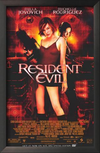 Resident Evil Framed Art Print