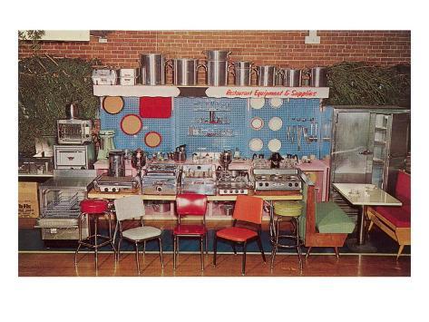 Restaurant Equipment and Supplies Art Print