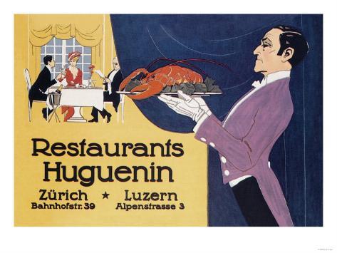 Restaurants Huguenin Taidevedos
