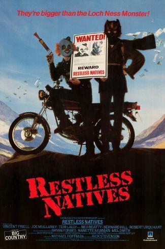 Restless Natives Art Print