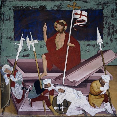 Resurrection, Life of Christ Giclee Print